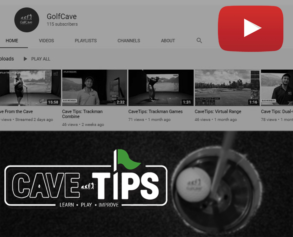 GolfCave Launches CaveTips on YouTube & Social Media