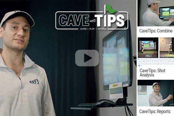 man in white 1/4 zip explaining golf tips