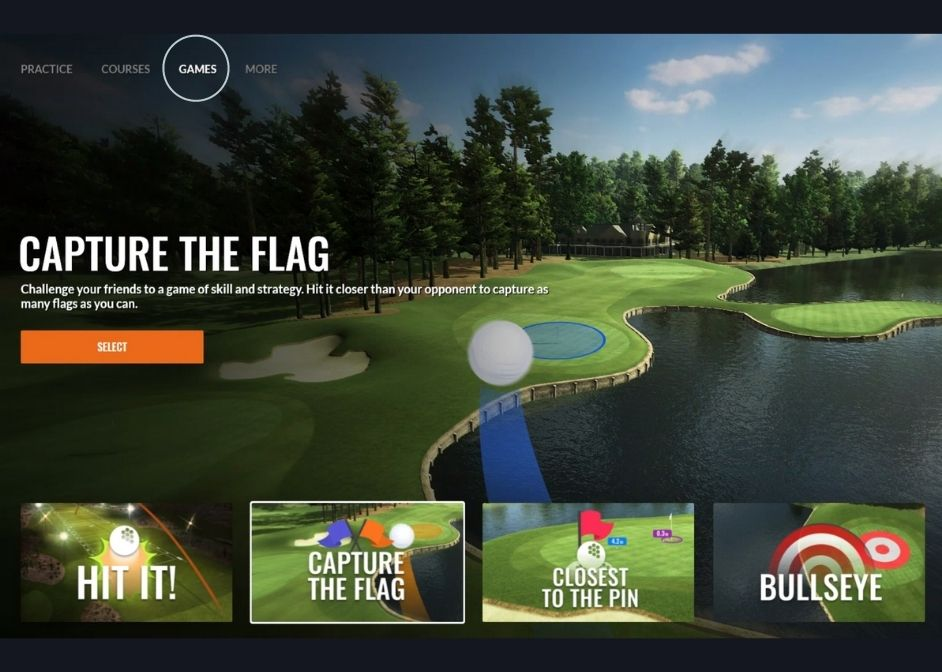 Play TrackMan Games at GolfCave